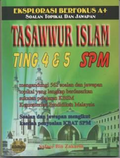 Sukatan Tasawwur Islam Tasawwur Islam