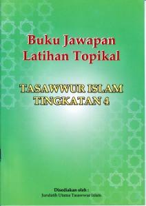 Buku Jawapan Latihan Topikal Ting 4