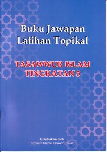 Buku JAwapan LAtihan Topikal Tingkatan 5